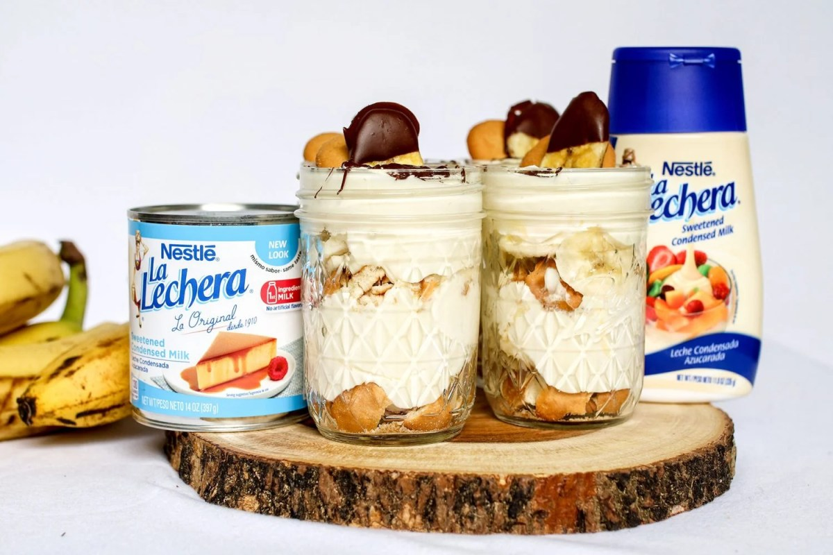 Individual Banana Pudding Jar Recipe feat. NESTLE® LA LECHERA®