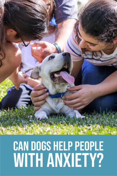 Obviously, getting a dog won't magically cure anxiety or depression, but I've found four reasons why a pet can definitely help!