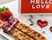 valentine's day, valentine's day breakfast, breakfast ideas, breakfast in bed, waffle sticks, breakfast recipes, valentine's day recipes, chocolate, strawberries, 2019, mom blog, mom blogger, mommy blog, mommy blogger, 2018, family blog, parenting blog, the super mom life, thesupermomlife, parenting blogger, family blogger