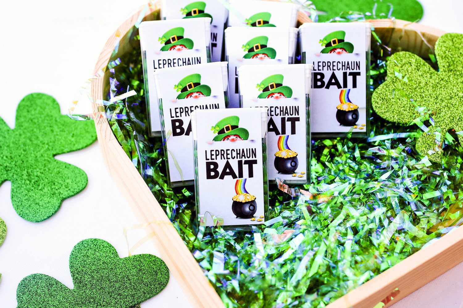 leprechaun bait, leprechaun poop, crafts, craft, crafts for st. patrick's day, st patty's day, kids, gift idea, diy, kids craft, crafts for kids, 2019, candy, ideas for st patrick's day, gifts for kids