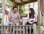 ways to bond with your teenager, parents, parents of teens, backyard camping, outdoors, inexpensive, fun, snacks, potato chips, pretzels, snyders, cape cod, camping snacks, parents, kids