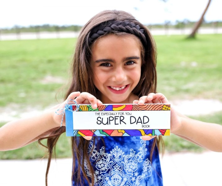 Super Dad Coupon and Activity Book with Free Printable