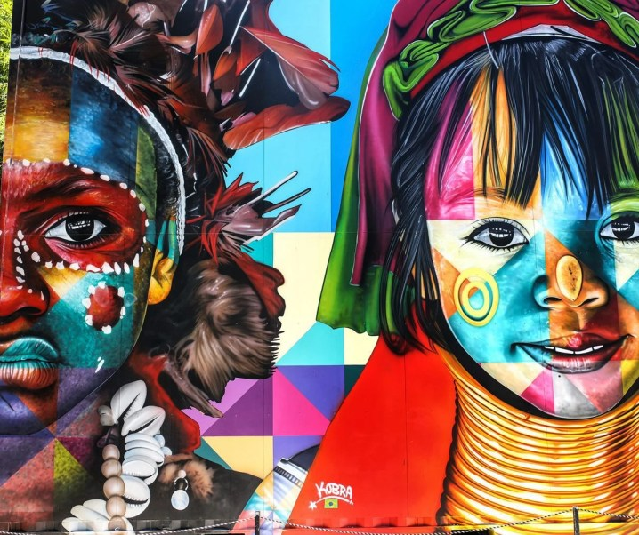 Wynwood Walls in the Miami Art District