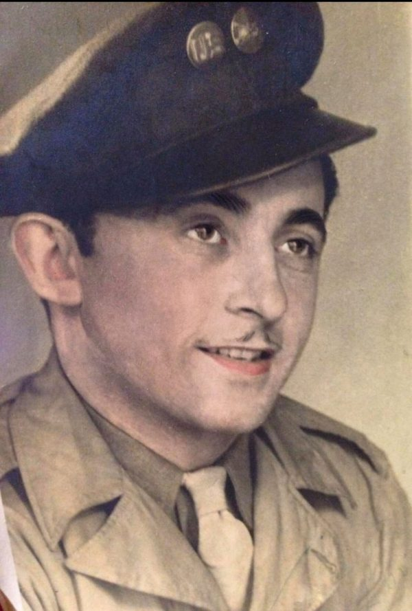 soldier in the army during world war II