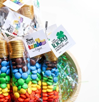 Pot of Gold at the End of the Rainbow St. Patrick's Day Gift Idea