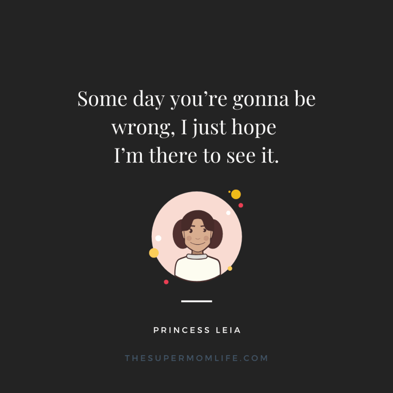 Some day you're gonna be wrong. I just hope I'm there to see it.