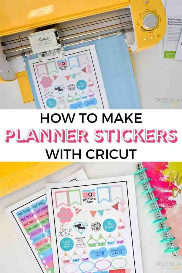 Obsessed with this planner stickers ideafrom Tastefully Frugal! My girls love stickers and I love that these planner stickers can help keep them organized!