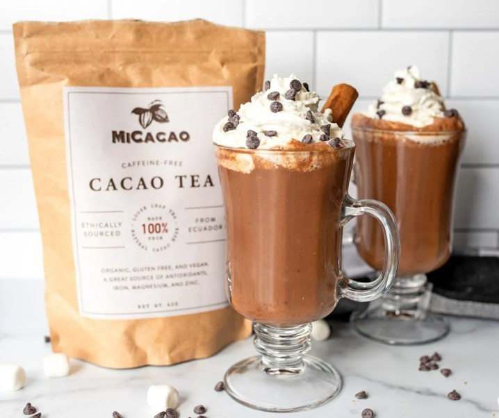 Vegan Chai Hot Chocolate