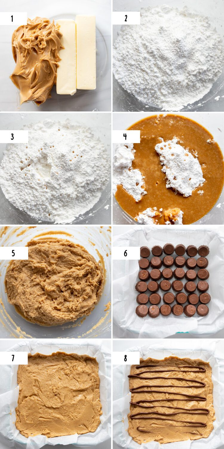 steps to make reese's peanut butter fudge