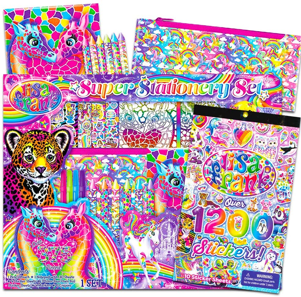 lisa frank super pack gift set