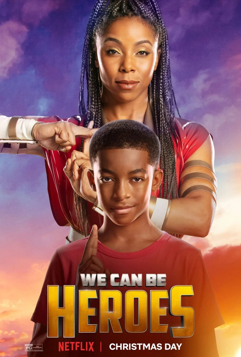We Can Be Heroes on Netflix Cover Art