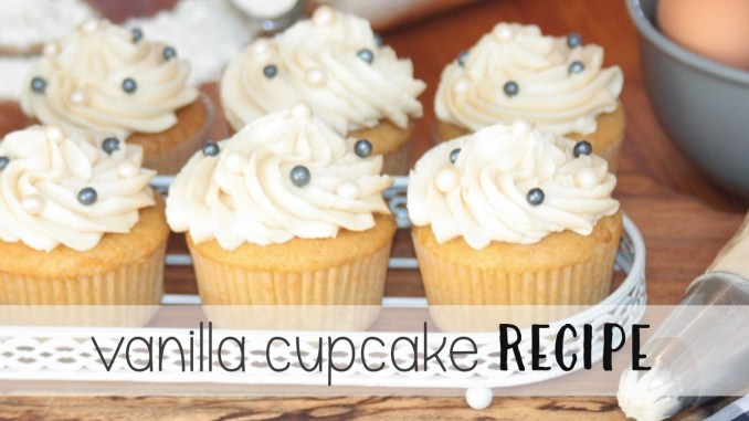 Best Vanilla Cupcake Recipe That's Real Easy thesupermomsclub.com