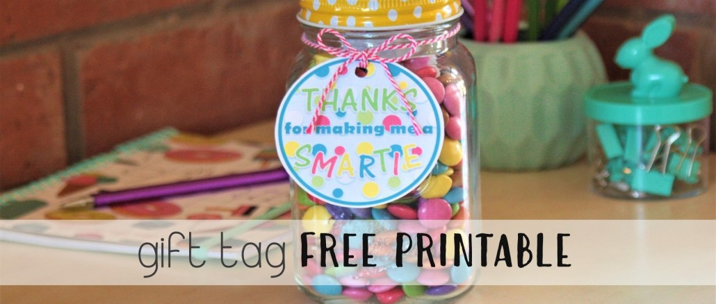 Thanks For Making Me A Smartie Gift thesupermomsclub.com