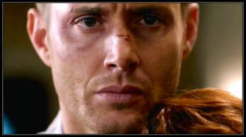 Charlie Bradbury (Felicia Day) forgives Dean Winchester (Jensen Ackles) and says good-bye