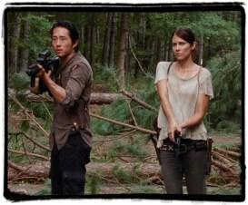 Glenn Maggie The Distance The walking Dead
