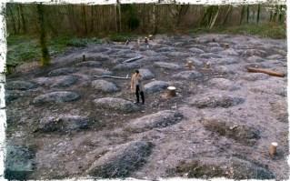 Castiel finds Cain's burial site