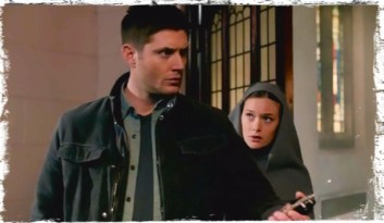 Dean Sister Mathias look for Isabella Supernatural Paint it Black
