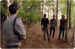 Aiden Noah Tara Glenn Remember The Walking Dead