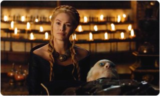 Cersei accuses Jaime of playing a role in their father's death