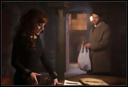 Castiel bring snacks Supernatural Dark Dynasty
