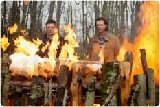 Sam Dean pyre Supernatural The Prisoner