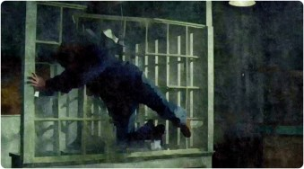 Sam thrown window Supernatural The Prisoner