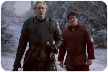 Brienne Podrick Payne Game of Thrones Mothers Mercy