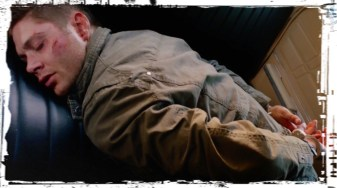 Dean handcuffs seat Supernatural Baby