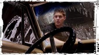 Dean washes car Supernatural Baby