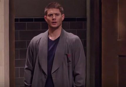 Dean Winchester Jensen Ackles surprise Supernatural Just My Imagination