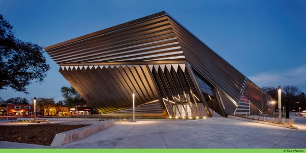 Eli And Edythe Broad Art Museum Zaha Hadid Architects