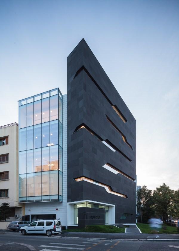 Monolit Office Building Igloo Architecture Superslice