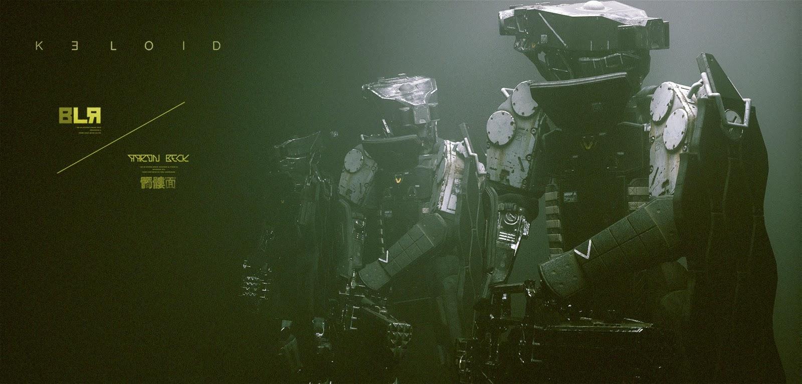 God Animation Wallpaper Keloid Trailer 2 Big Lazy Robot Aaron Beck The