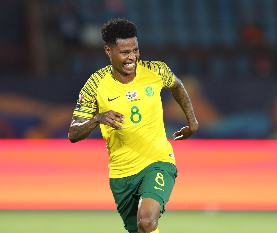 Bongani Zungu's header gave South Africa the points