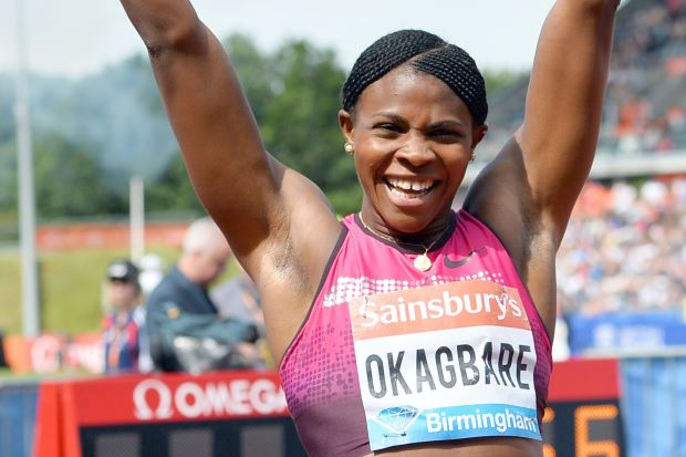 OKAGBARE PLACE 5TH IN BIRMINGHAM, QUALIFIES FOR FINALS IN ZURICH