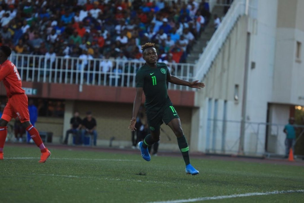 super eagles chukwueze