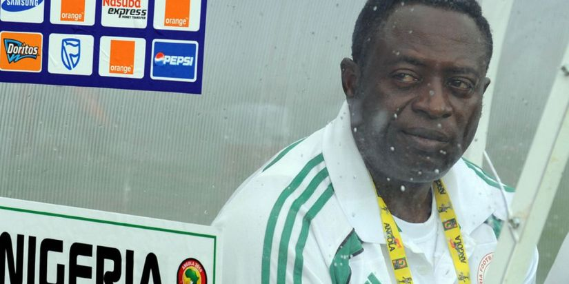 Super Eagles coach Shaibu Amodu rescued Nigeria from the brink of World Cup failure in 2001