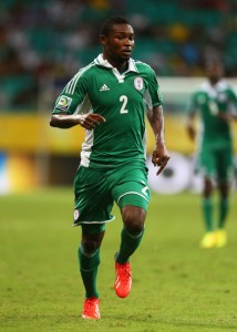 godfrey obabona was one of keshi's local league finds and started against liberia