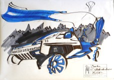 Borka Schwarzer - Nightfall Blue - Round1