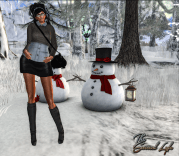 The Surreal Lyfe feat AZHARA BOUTIQUE - Double Shirt, Cecily Skirt and SaraH Boots @ We Love To Blog 2v