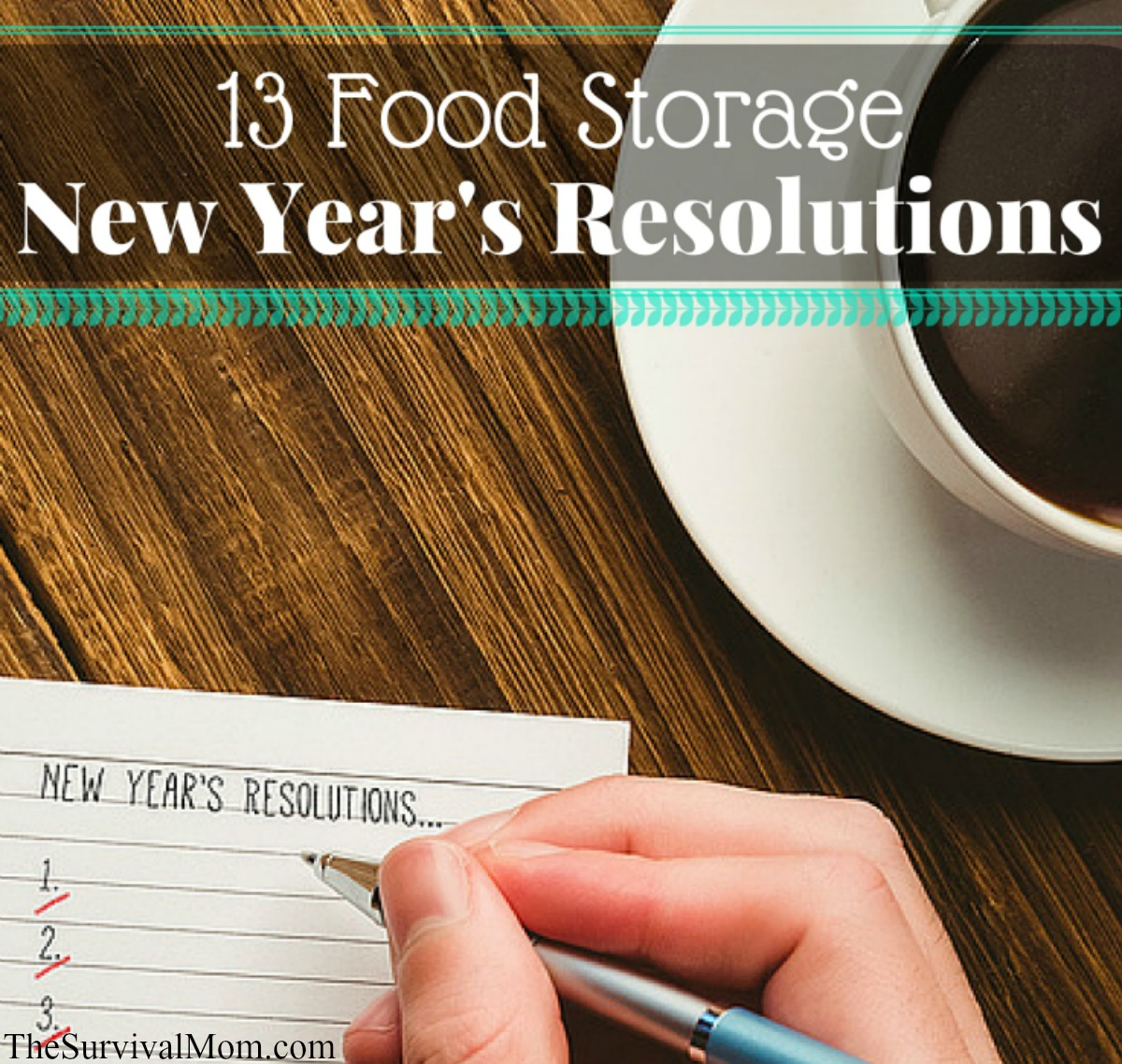 food storage resolutions