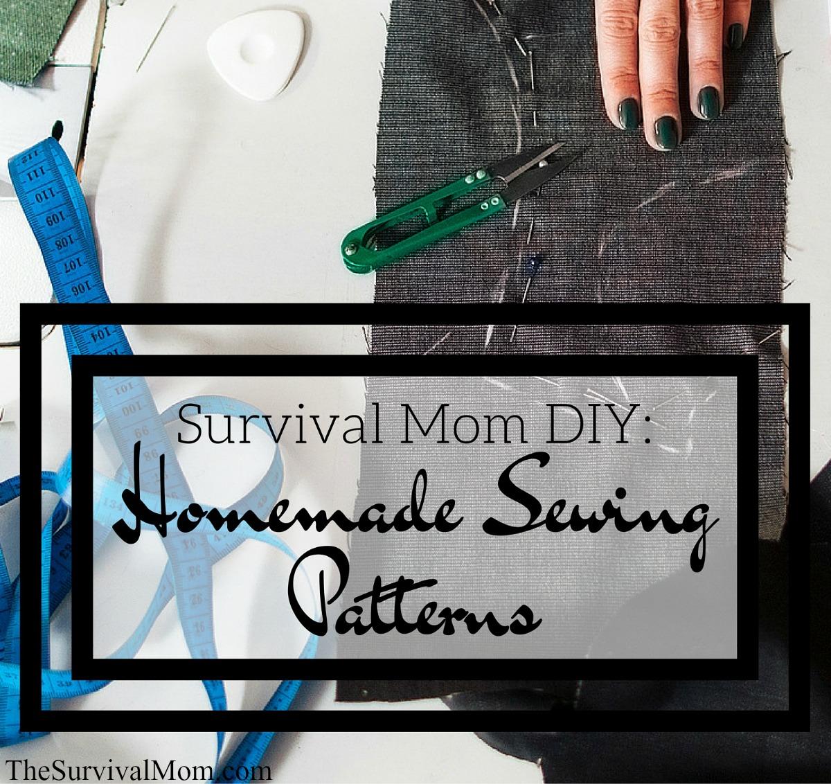 DIY sewing patterns-FB size