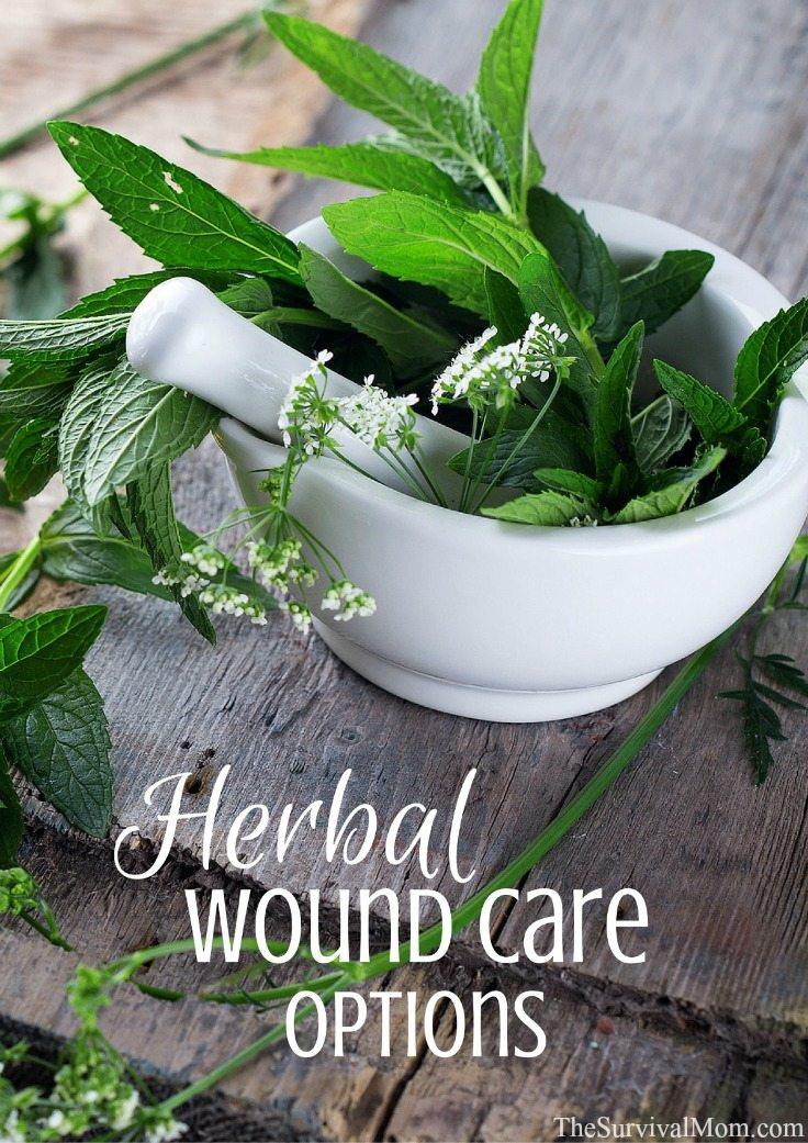 Herbal wound care