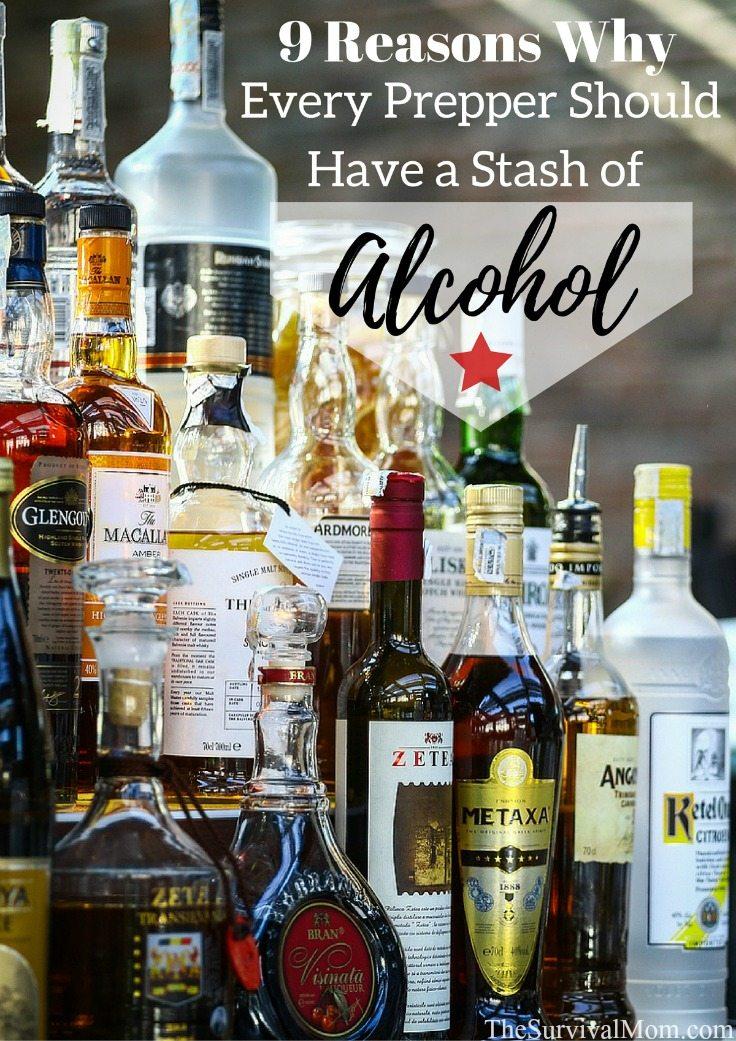 prepper stash alcohol