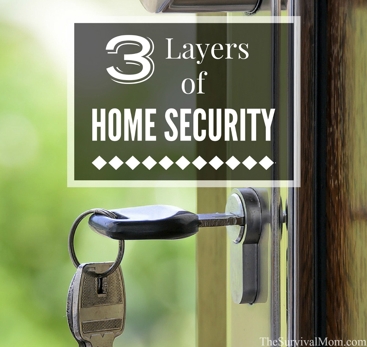layers of home security