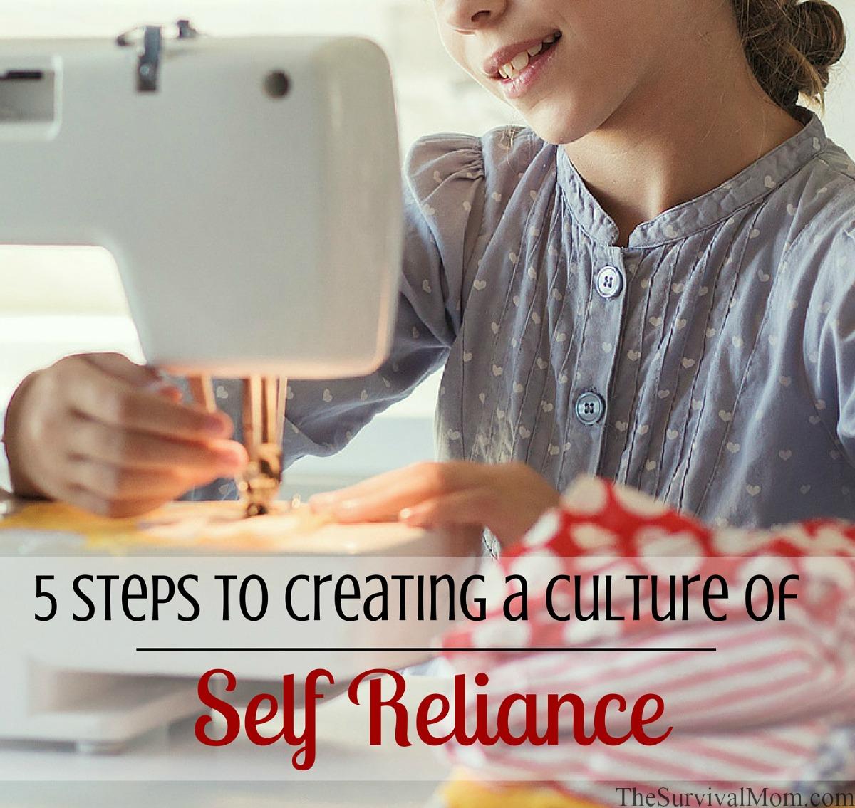 self reliance culture