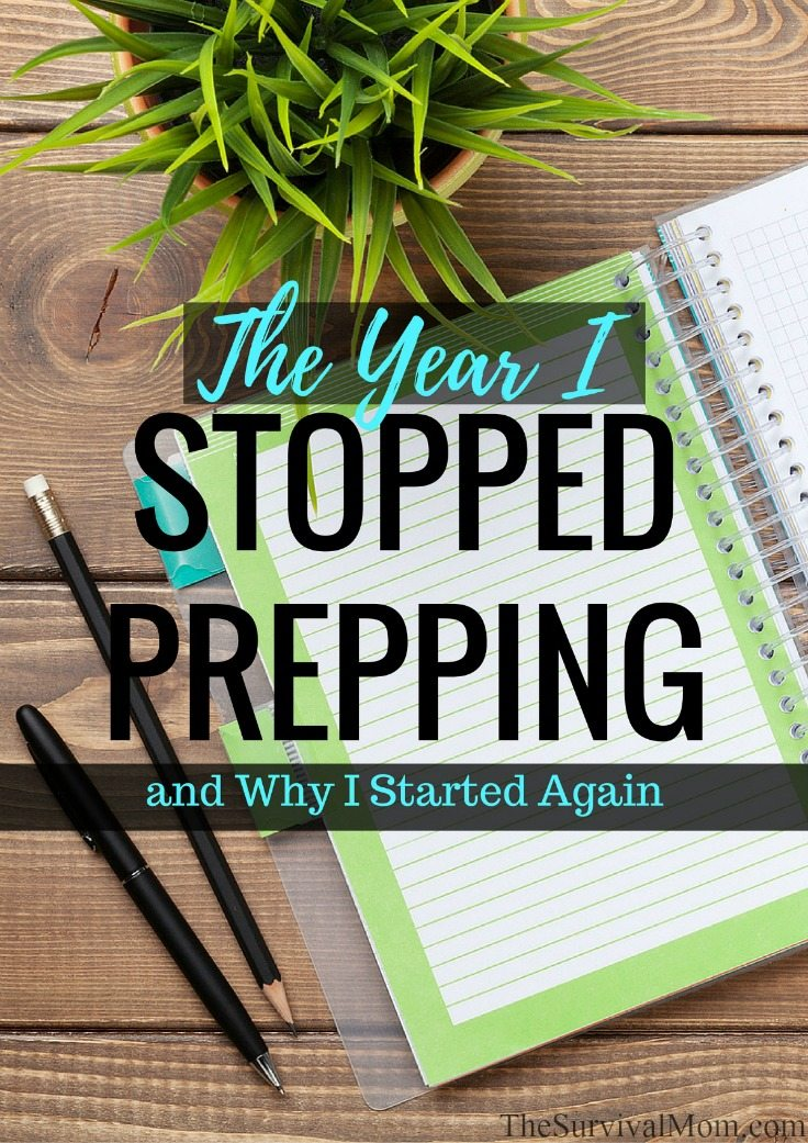 stop prepping