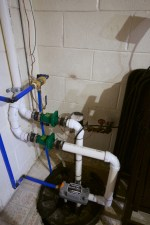 Sump pump with backup