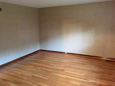 The whole upstairs has hardwood! This is Bedroom 2