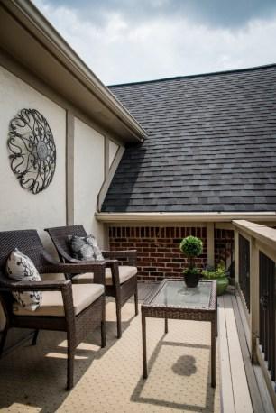 Master suite private balcony